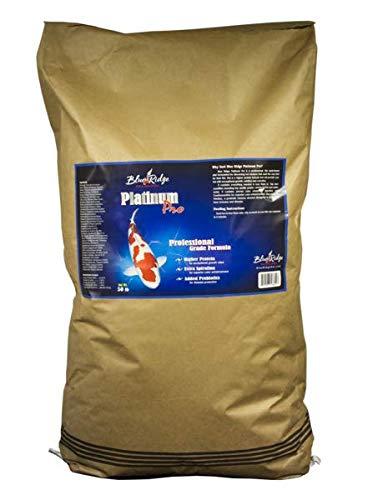 Blue Ridge Fish Food Pellets [50lb], Koi and Goldfish Platinum Professional Formula, Floating 3/16