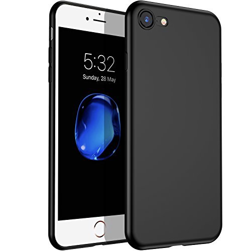 (VANMASS iPhone 7/8 Case Matte Finish Flexible Soft Gel TPU Sleek Cover Shell with Thin Slim Fit and Apple Original Natural Touch for Apple iPhone 7, iPhone 8 -)