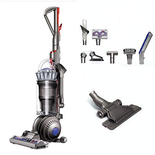 Dyson Ball+ (formerly DC65) Animal + Allergy Complete Upright Vacuum, with 7 Tools - HEPA Filtered - Corded - Silver