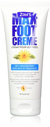 Zim's Max Foot Creme 4 oz, (Pack of 1)