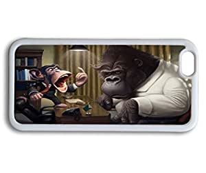 customized YTSOOP(TM)iPhone 6 Plus Case, Cute Funny Monkey And Bannanas YTSOOP(TM)iPhone 6 Plus Case Slim Cover Skin by runtopwell