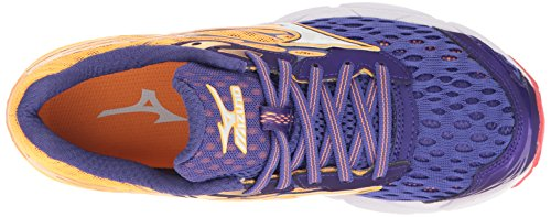 Zapatillas De Running Mizuno Mujeres Wave Catalyst 2 Purple / Orange Popsicle