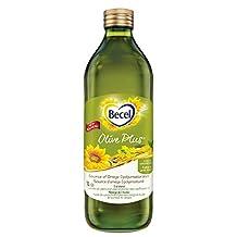 Becel 3 Oil Blend, Canola Oil, Extra Virgin Olive Oil and Mid-Oleic Sunflower Oil, 1L