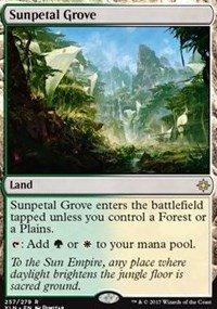 Sunpetal Grove - Foil - Ixalan