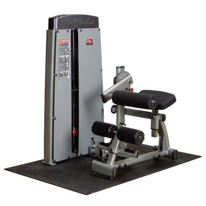 Body Solid DABBSF ProClub Line Pro Dual Ab and Back Machine with Adjustable Roller Pad and Gas-Assisted by Body-Solid