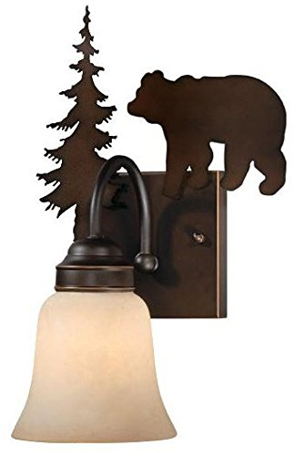 Cheap Vaxcel VL55701BBZ Bozeman Bathroom Light, Burnished Bronze