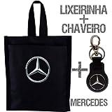 Kit Lixeirinha + Chaveiro Mercedes