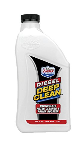 Lucas Oil 10873 Diesel Deep Clean, 64 oz.