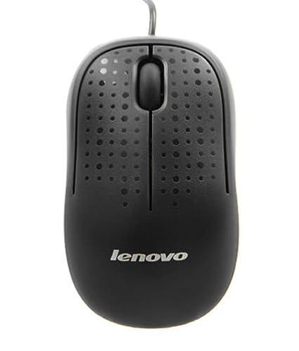 Lenovo M110 USB Optical Mouse  Black  Mice