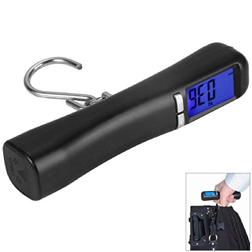 New 1pc LCD Backlit 40Kg Travel Portable Luggage Baggage Suitcase Bag Weight Digital Weighing Hook Scale