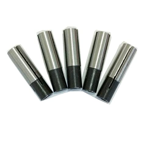 5 x 6.35mm to 3.175mm Engraving Bit CNC Router Tool Adapter