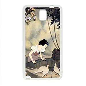 SANLSI Snow White and the Seven Dwarfs Case Cover For samsung galaxy Note3 Case
