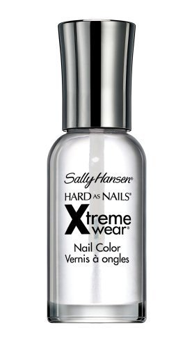 Sally Hansen Hard as Nails Xtreme Wear, Invisible 0.4 oz (Pack of 2)