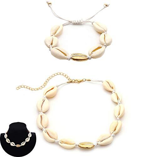 Daimay 2PCS Choker Bracelet...