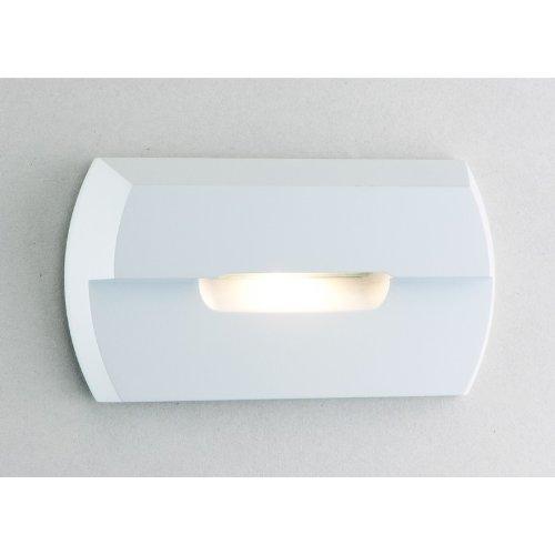 1 Light LED Step Light Finish: White