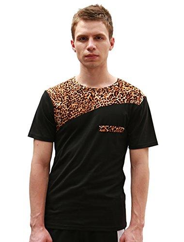2016 Summer Fashion Men's Short Sleeve Printed T-shirts - 9