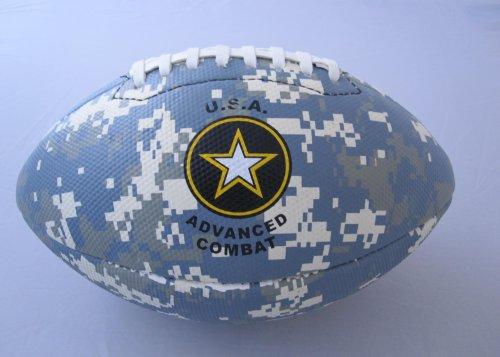 All Pro Leather Football (All Pro Camo Advanced Combat ACU Football, Full Size)