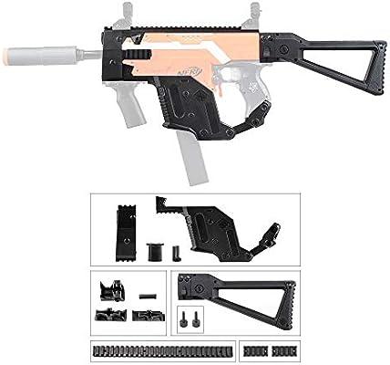 JGCWORKER Kriss Vector Decoration Kits Set for Nerf N-Strike