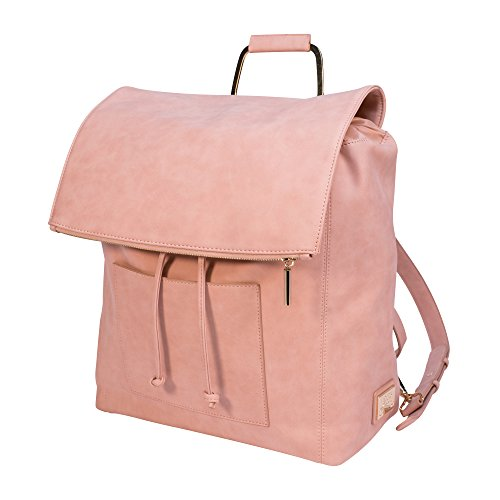 ROSIE POPE Highbury Hill Backpack Diaper Bag, Pink Classic Lined Shoulder Bag