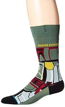 Stance Mens Boba Fett Socks X-Large Green