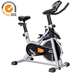 Special: $299.99 → $259.99YOSUDA stationary bike for seniors, a good gift for your parents.Simple installation, can be completed in 1 hour (YOSUDA installation video can help a lot)✔ 35 lbs flywheel spin bike, provides strong stability, suppo...