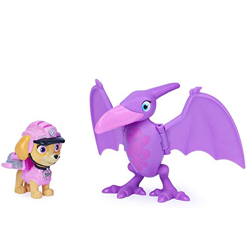 PAW-Patrol-Dino-Rescue-Skye-and-Dinosaur-Action-Figure-Set-for-Kids-Aged-3-and-Up