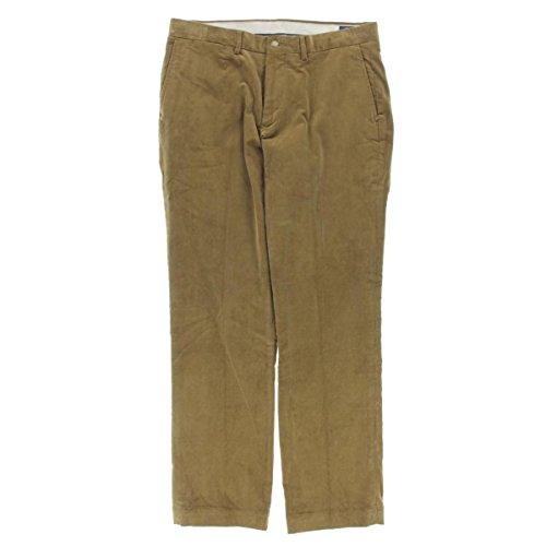 Polo Ralph Lauren Mens Corduroy Classic Fit Corduroy Pants Tan 33/32