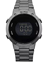 Relógio Feminino Euro Digital Eubj3279ae/4K Chumbo