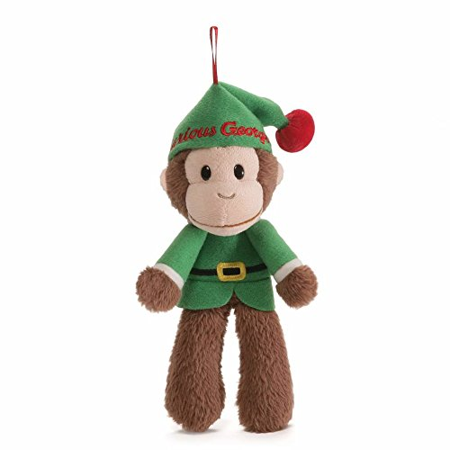 Kiddie Christmas Costumes (Gund Curious George Holiday Elf Ornament)