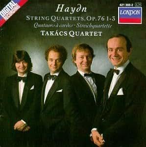 Haydn: String Quartets Op. 76, Nos. 1 - 3