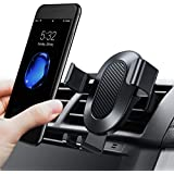 TORRAS Cell Phone Holder for Car, Auto-Clamping Air Vent Car Mount Holder Cradle Compatible for iPhone Xs/Xs Max/XR / X / 8/8 Plus / 7/7 Plus Samsung Galaxy S9 / S9 Plus and More – Black
