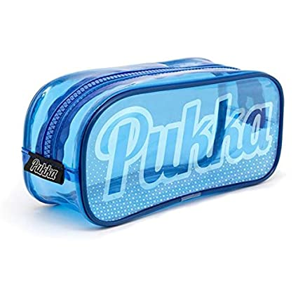 Estuche Pukka de marca azul: Amazon.es: Oficina y papelería