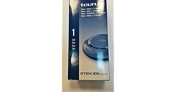 Taurus Set/Kit Escobas+Filtro+Mopa Striker Mini 1hz: Amazon.es: Hogar