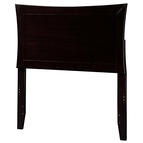 Atlantic Furniture 42.75 in. Twin Headboard in Espresso Finish by Atlantic Furniture