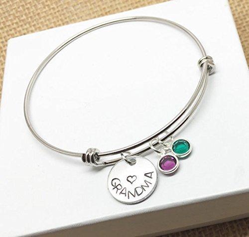 personalized-grandma-grandmother-bangle-charm-bracelet-is-hand-stamped-birthstones