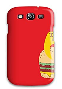 Megan S Deitz's Shop Best Perfect Fit Creepy Burger Case For Galaxy - S3 7619073K17924590