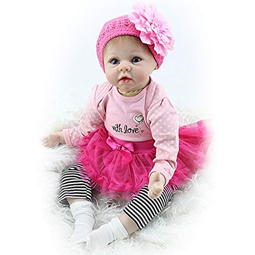 Skirt Doll Clothes For 43cm Baby Doll Reborn Babies Clothes And 17inch Doll Accessories To Adopt Advanced Technology Dolls & Stuffed Toys New Hair Flower