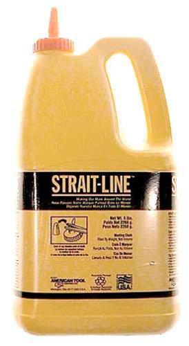(IRWIN Tools STRAIT-LINE 65104 Standard Marking Chalk, 5-pound, White (65104))
