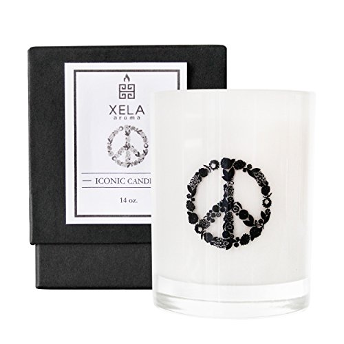Xela Aroma Iconic Peace Candle in Ember