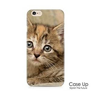 """Cute Lovely Kitten Cat Snap On Hard Phone Skin Cover Case for iPhone 6 and 6S (4.7"""") - CUI6C063"""