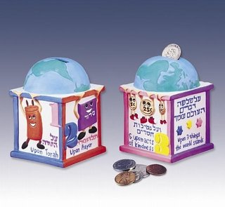 Foundations of the World Charity Box Ettbws1 (Tzedakah Box World)