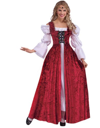 Medieval Laced Gown