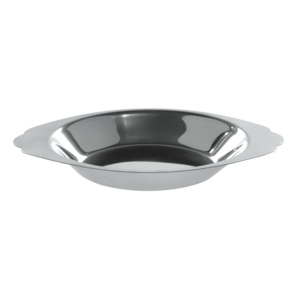 HUBERT Stainless Steel Au Gratin Dish 8 Ounce Round