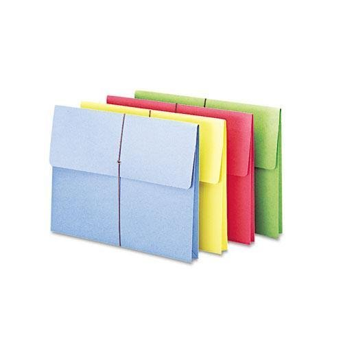 SMD77251 - Smead 77251 Assortment Expanding Wallets with Elastic Cord by Smead