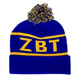 Zeta Beta Tau Fraternity Letter Winter Beanie Hat Greek Cold Weather Winter ZBT