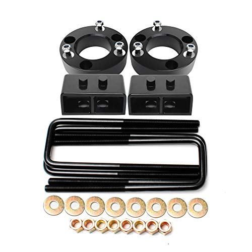ZY Wheel 3'' Front and 2'' Rear Leveling Lift Kit for 2004-2018 Ford F150 2WD 4WD Will Rise Your F150 Front 3'' and Rear 2''