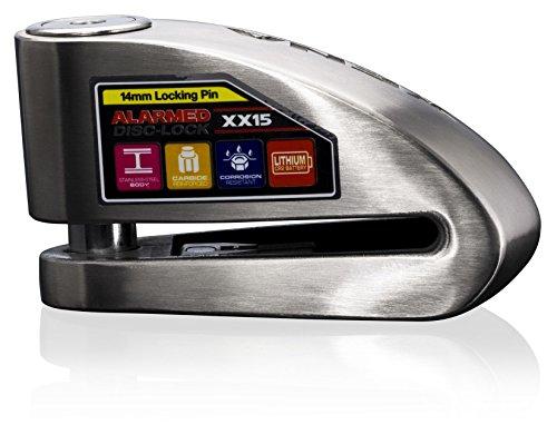 Candado Disco Alarma Motocicleta 110dB 2 posiciones Kov
