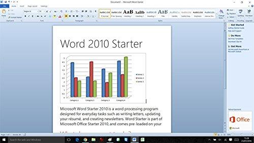word starter 2010 compatible windows 10