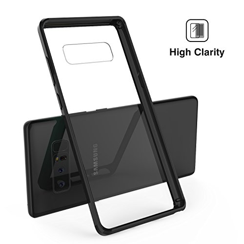 MoKo TPU Bumper PC Hard Back Cover Case for Samsung Galaxy Note 8