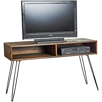 Amazon Com Belmont Home 48 Inch Natural Finish Media